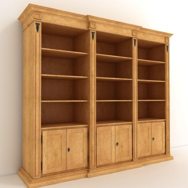 cabinet shelf 3d max