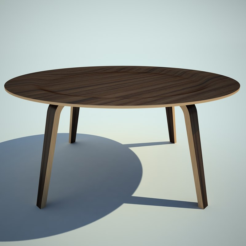 3d charles eames coffee model