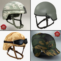 Combat Helmets Collection