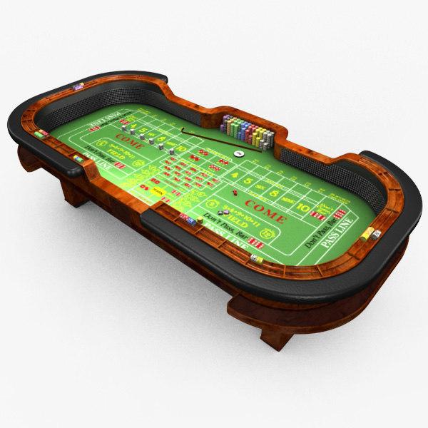 max casino craps table -