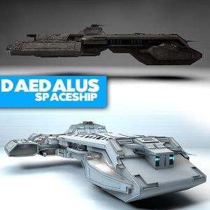 3ds max daedalus stargate