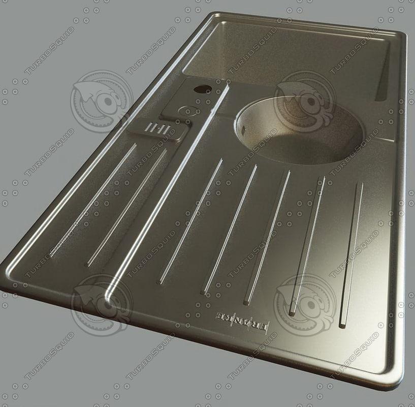 kitchen accessories 3ds