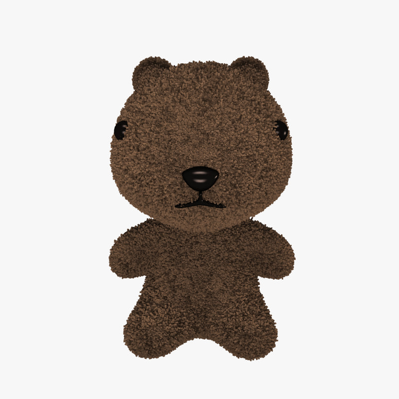 teddy bear 3ds