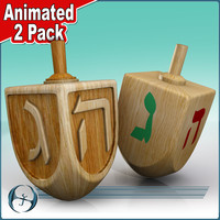 Dreidel (Animated 2Pack)