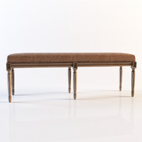 Restoration hardware - Louis bench