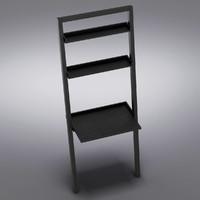 Crate&Barrel - Sloane Grey Leaning Desk
