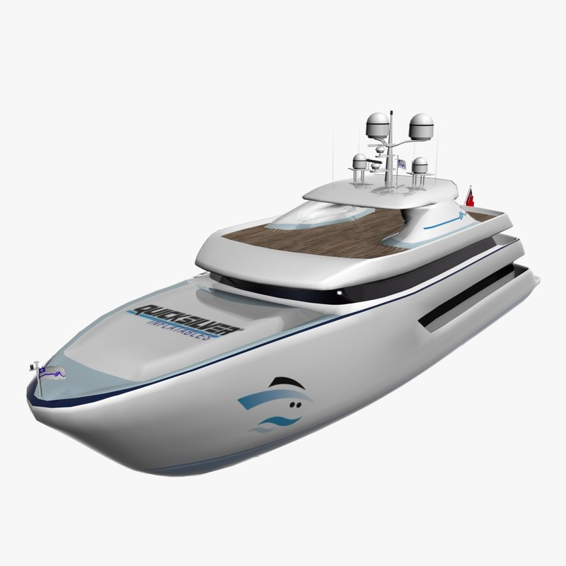 3ds max yacht architectural design