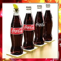 Coke - Coca Cola Glass Bottle.
