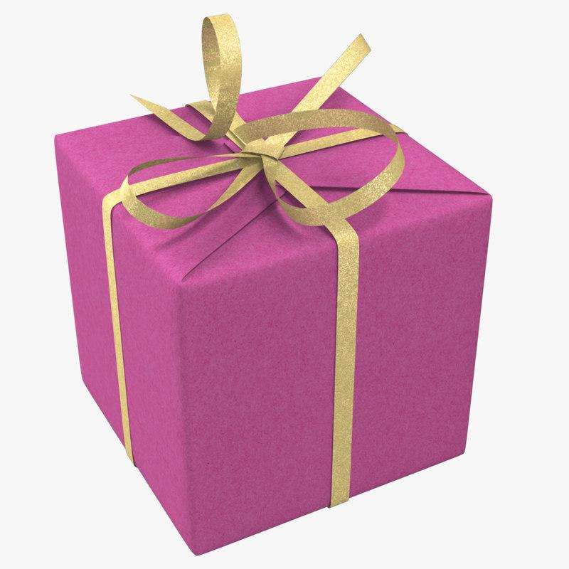3d model gift boxe