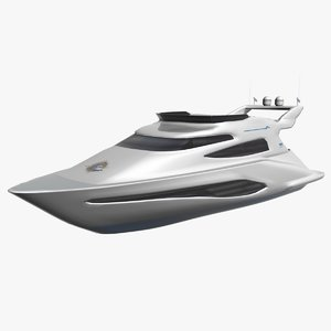 3d model boat yacht