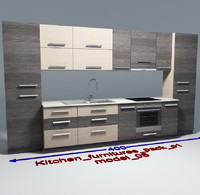 Kitchen furnitures with accesories model 08