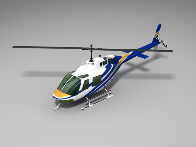 3ds helicopter 01