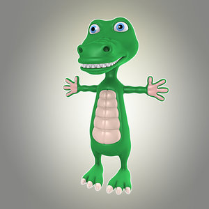 max cool cartoon crocodile