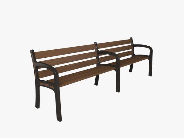 design bench 3d model