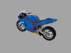 3d max sport bike