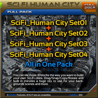 SciFi_Human City / Pack
