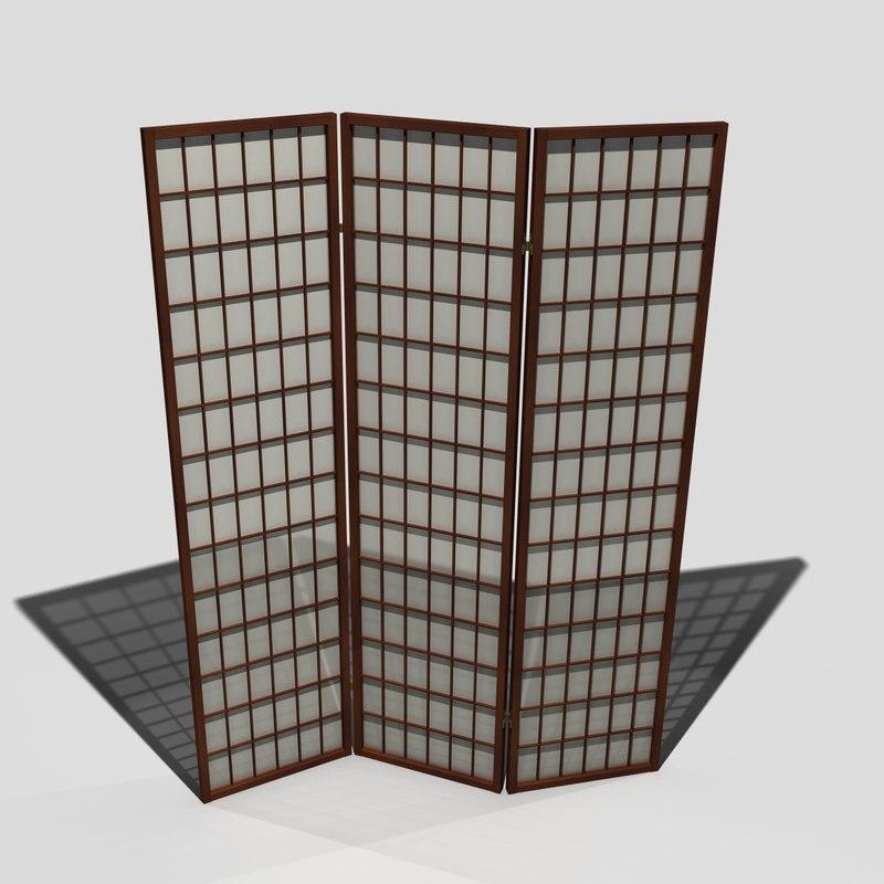 room screen 3d model