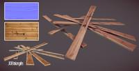 wood plank obj free