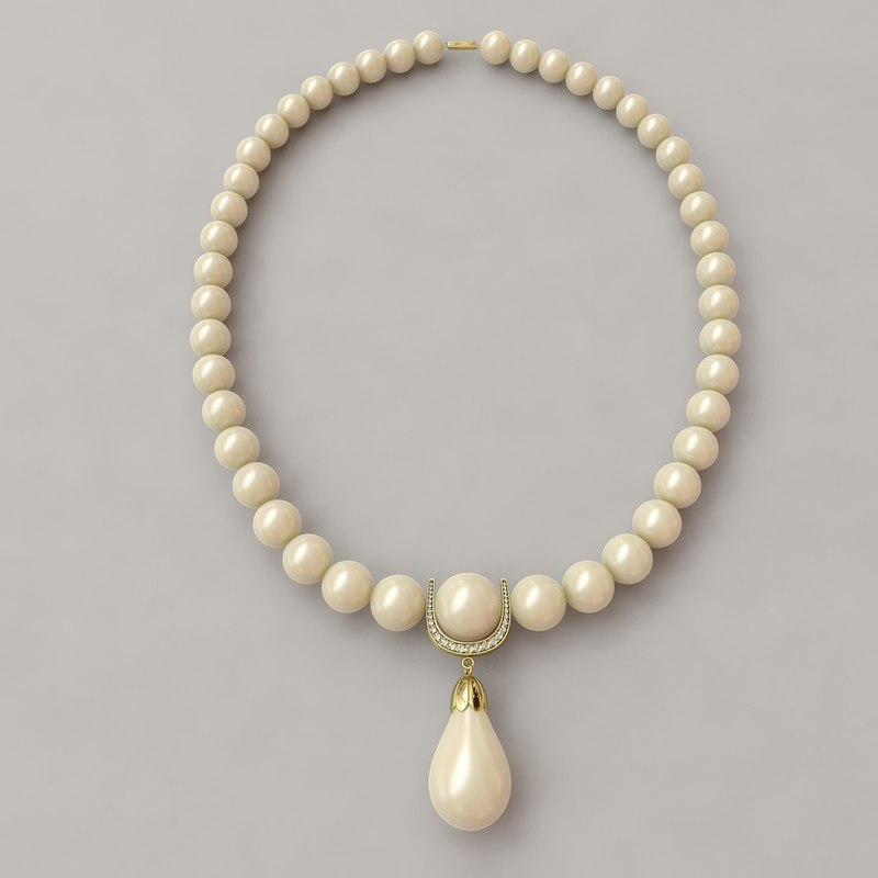 max pearls necklaces