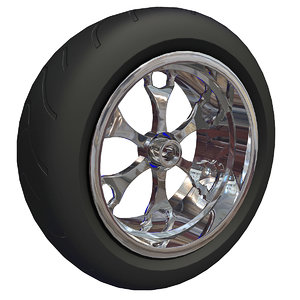 motorcycle tyre 3d max