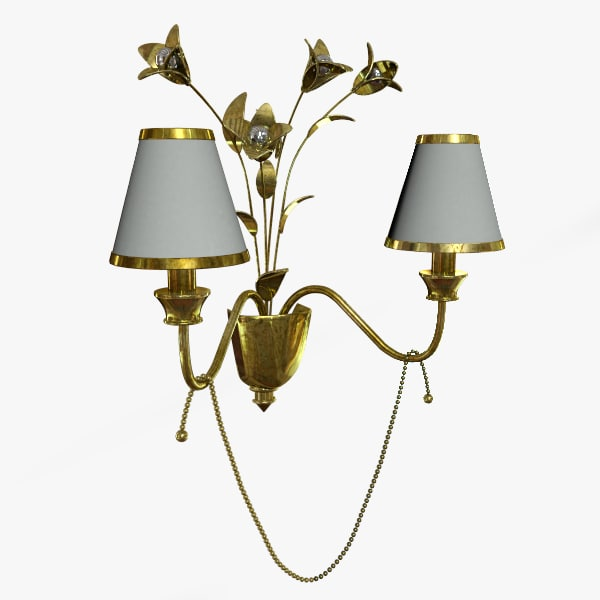 sconse lamp 3ds free