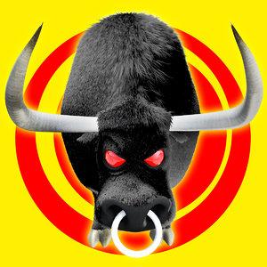 3ds bull cow