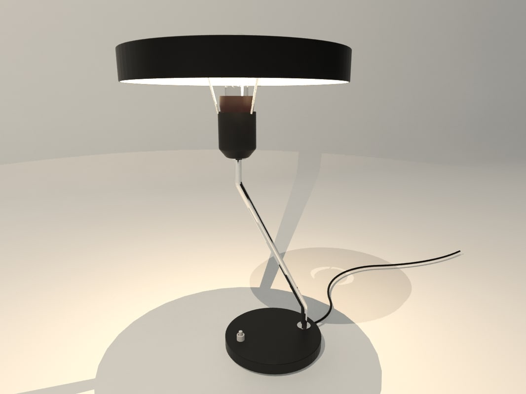 retro design desk lamp max