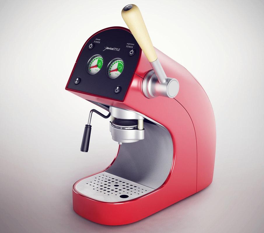 coffeemaker coffee 3d model
