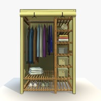 3d wardrobe clothes wardobe 2