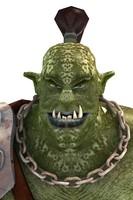 3d character shugrat orcs model