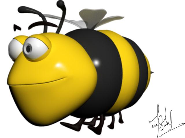max cartoon bee