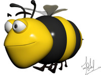 max cartoon bee