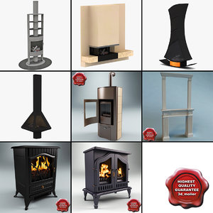 3d fireplaces 3