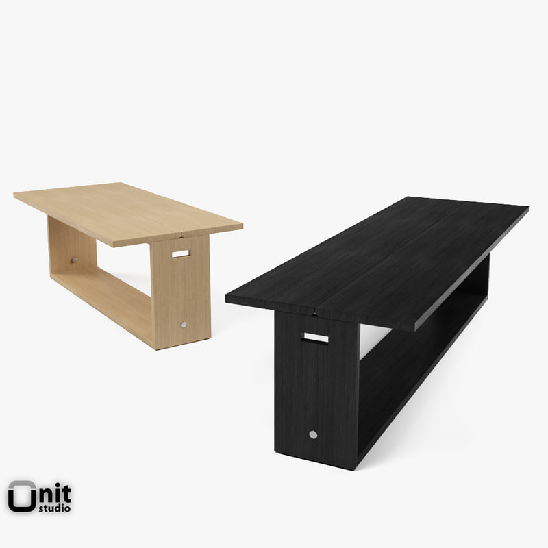 cuma table-console maxalto table 3d dwg