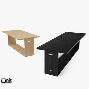 cuma table-console maxalto table 3d dwg