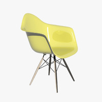 charles eames daw chair vitra 3d model
