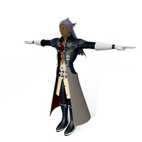 3d xehanort s heartless model