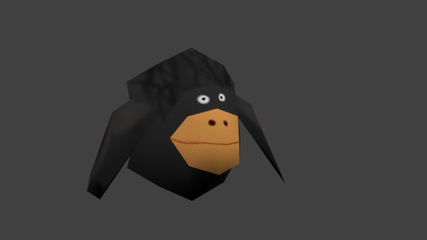 free obj mode bird