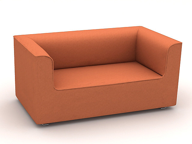 sofa s223b 3d 3ds