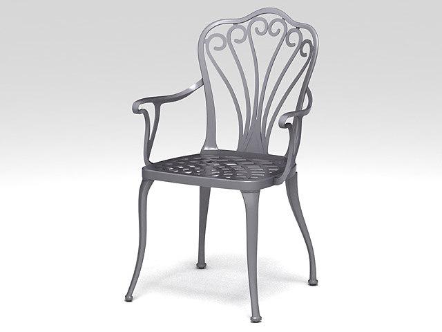 3d max chair armow