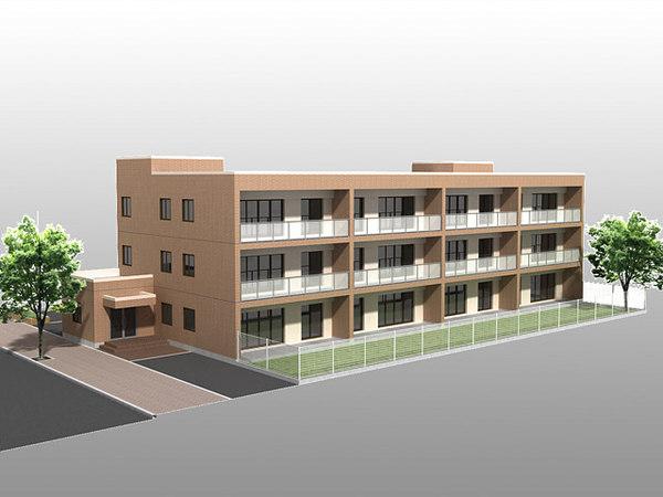 3d model mansion01