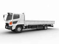 hira-truck 3d model