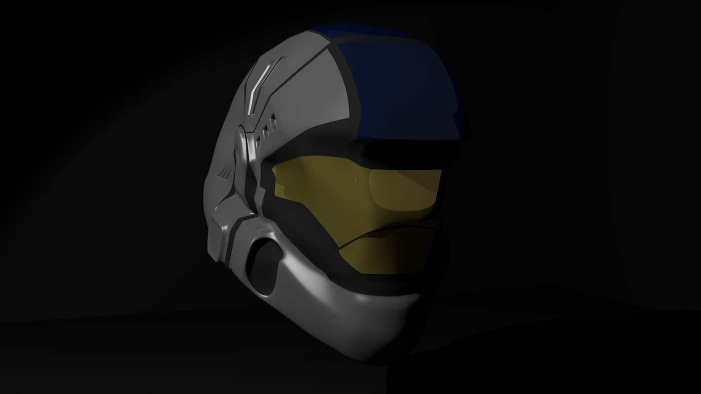 3ds max helmet odst