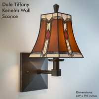 dale tiffany kenelm 3d model