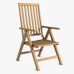 reclining wooden chair wood max