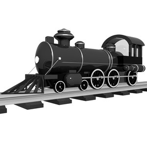 train loader 3d obj