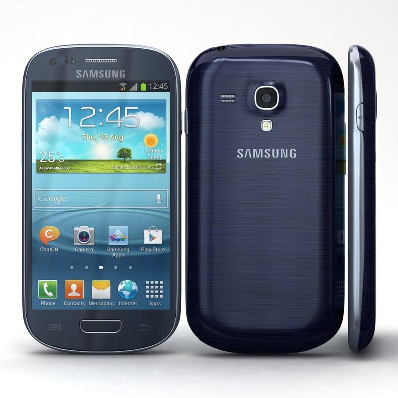 samsung i8190 galaxy s3 3d obj
