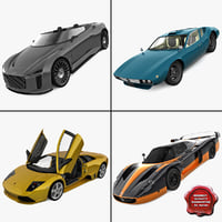 SuperCars Collection 1