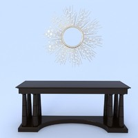 baker dressing table obj