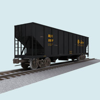 Train Car: Coal Hopper